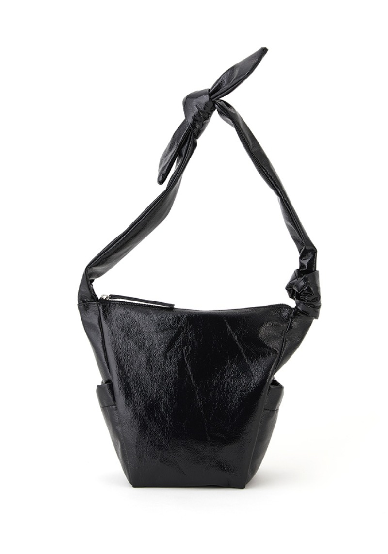 REBORN BAG SMALL (SHINY BLACK PEPPER)